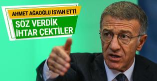 Ahmet Ağaoğlu: 6 futbolcu alacakları için ihtar çekiyor