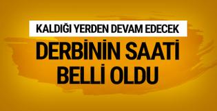 Fenerbahçe - Beşiktaş derbisi ne zaman saat kaçta oynanacak?