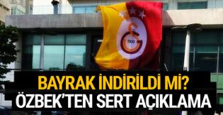 Dursun Özbek'ten bayrak açıklaması