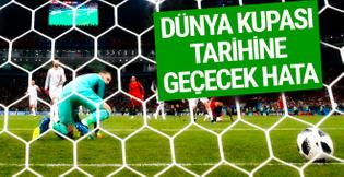Dünya Kupası tarihine geçecek hata!