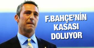 Fenerbahçe'nin kasası dolmaya başladı