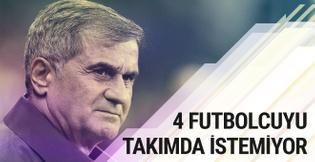 Şenol Güneş'in 4 futbolcu hakkındaki raporu