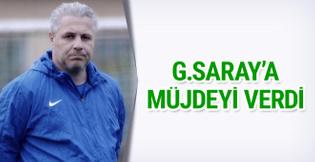 Sumudica'dan Galatasaray'a müjde