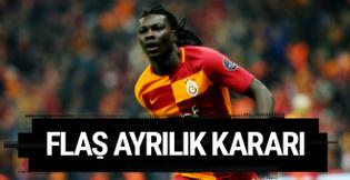 Galatasaray'da Gomis'ten flaş ayrılık kararı