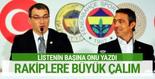 Fenerbahçe'den rakiplere büyük çalım