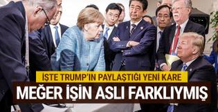 Trump sessizliğini bozdu işte G7'yi bitiren karenin aslı
