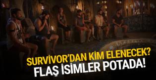 Survivor'da kim elenecek? 17 Haziran 2018 eleme potası!