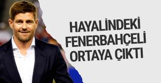 Gerrard'ın hayalindeki Fenerbahçeli