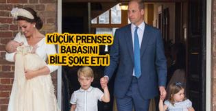 Küçük prenses öyle bir şey söyledi ki!