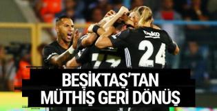 BB Erzurumspor Beşiktaş maçı golleri ve geniş özeti