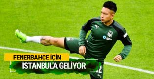 Ramires Fenerbahçe için İstanbul'a geldi