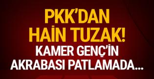 PKK'dan hain tuzak! Kamer Genç'in akrabası...