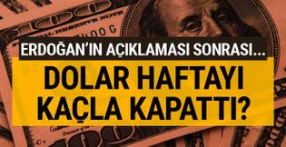 6 lirayı gören dolar kapanışı kaçla yaptı son rakamlar