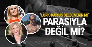 Seda Akgül şaşırttı! Loris Karius gelse veririm! Parasıyla değil mi?