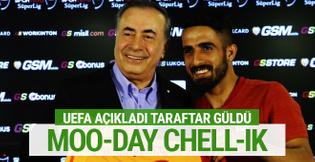 UEFA Galatasaraylı futbolcuların isimlerini böyle açıkladı...