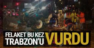 Trabzon'da havalimanı uçuş trafiğine kapandı