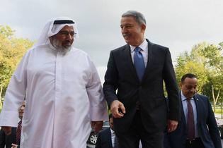 Katar Genelkurmay Başkanı Türkiye'de