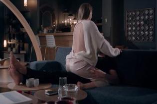 Serenay Sarıkaya 'Fi dizisi' yine sınır tanımadı bu sahneler fena