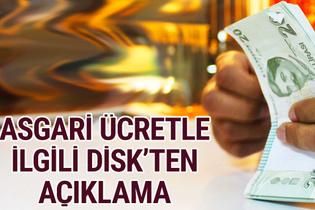 Asgari ücret 2018 yeni zamlı maaşlar DİSK açıklama yaptı