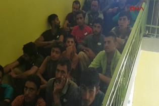Kastamonu'da 137 kaçak yakalandı