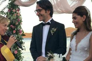O Hayat Benim'in Efsun'u Ceren Moray Fransız damatla evlendi gelinliğine bakın