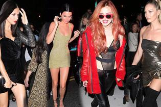 Ünlü modeller, Türk yıldızın partisine koştu