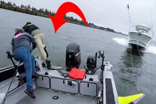 Dehşet Olay! Sürat teknesi balıkçılara böyle daldı