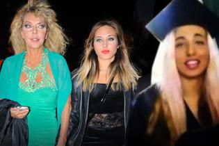 Ahu Tuğba'nın mutlu günü: Kızım mezun oldu