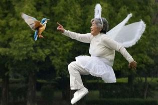 90 yaşında sosyal medya fenomeni oldu!