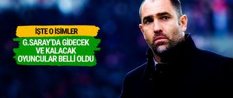 Galatasaray'da gidecek ve kalacak oyuncular