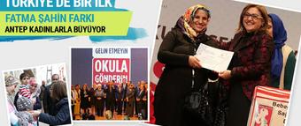 Gaziantep kadınlarla büyüyor Fatma Şahin farkı!
