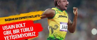 Başbakan Binali Yıldırım: 'Usain Bolt gibi gidiyor yalanları!'