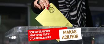 Son referandum anket sonuçları makas açılıyor