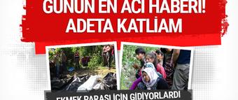 Sakarya'da katliam gibi kaza çok sayıda ölü var