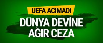 UEFA'dan Milan'a kötü haber