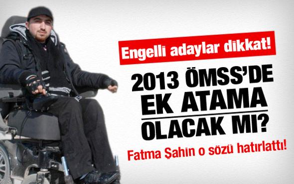 2013 ÖMSS'de ek atama ne zaman olacak?