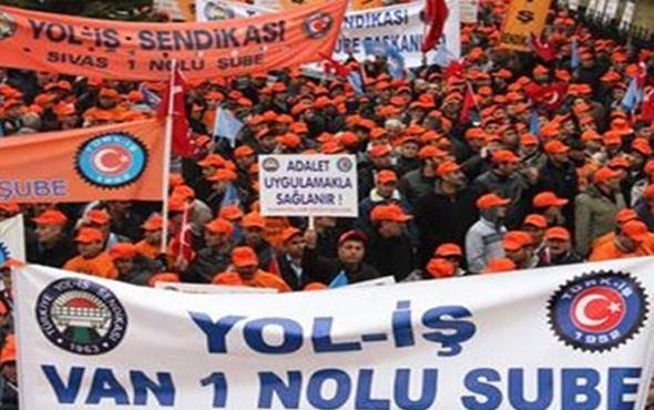 Taşeron işçiler kadro için Ankara'da yürüdü!