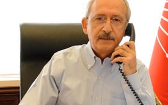 Kılıçdaroğlu'ndan Davutoğlu'na tebrik telefonu