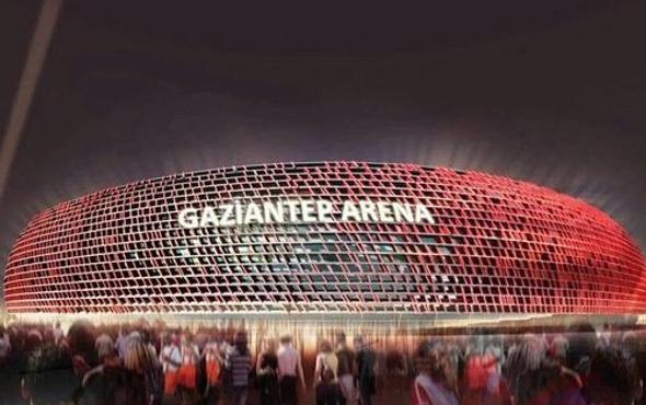 Gaziantep Arena'nın ilk locaları kiralandı