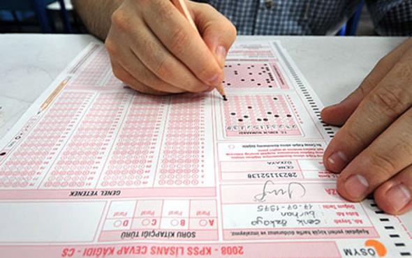 KPSS sınavı 20 Kasım sınav saati değişti