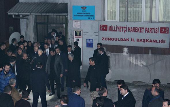 Başbakan Yıldırım'dan MHP'ye ziyaret!