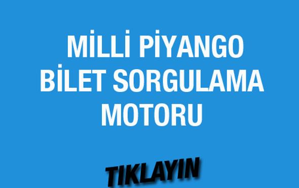 Milli Piyango bilet sorgulama 9 Nisan 2016 çekilişi