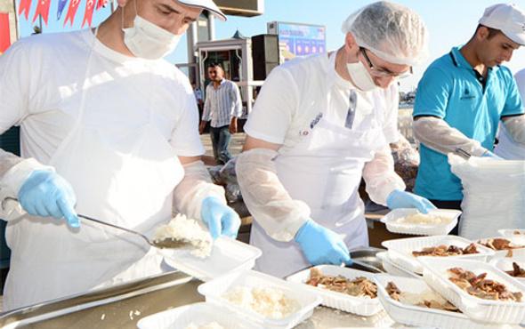 İBB'den her gün 25 bin kişilik iftar