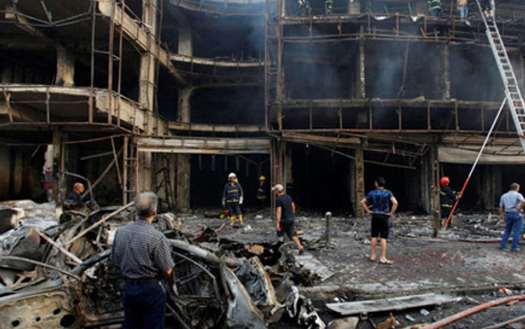 Bağdat'ta bombalı saldırı! Çok sayıda ölü ve yaralı var
