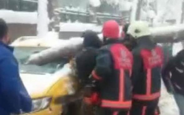 İstanbul'da korkunç görüntü ölümden döndü