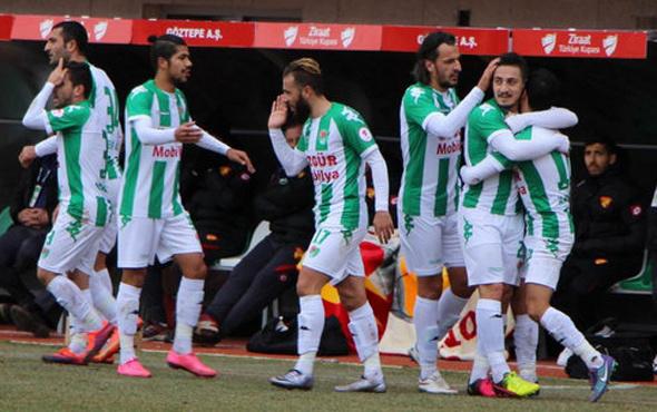 Yeni Amasyaspor Göztepe'yi yendi