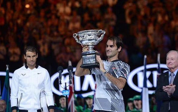 Federer-Nadal finali sosyal medyayı salladı