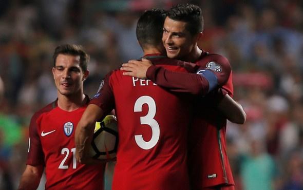 Portekiz'i Dünya Kupası'na Cristiano Ronaldo taşıdı!