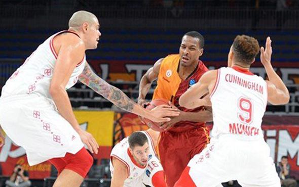 Galatasaray Odeabank farklı yenildi