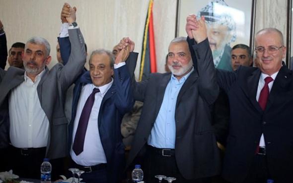 Hamas ve El fetih uzlaştı Gazze'nin kontrülü devrediliyor